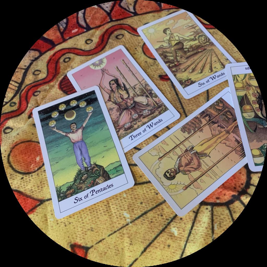 carte de tarot pentacles